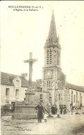 ROZ-LANBRIEUX  -- L'église Et Le Calvaire                                    -- Drolon - Altri Comuni