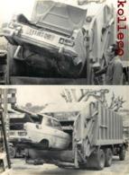 "CAMION-BENNE "" JUMBO "" RAMASSAGE DES EPAVES DE VOITURES NICE METIER DUMP-TRUCK - Niza"