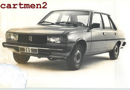 LA NOUVELLE 305 PEUGEOT AUTOMOBILE VOITURE CAR PUBLICITE 304 PEUGEOT - Cars