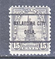 U.S. 696  (o)  OKLAHOMA  CITY   Perf. 11 X 10 1/2  1929  Issue - United States