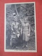 A Dyak Couple Borneo   Ref 4221 - Malesia