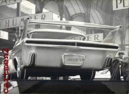 SALON AUTOMOBILE DE PARIS LA VOITURE LA PLUS CHER CHRYSLER A TURBINE PROTOTYPE EXPERIMENTALE AILERON STABILISATEUR CAR - Cars
