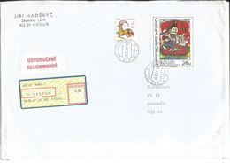 R Envelope 504 Czech Republic ORIENTAL ART FROM OF INDIA 2007 Shiva Parvati Ganesha - Hinduism
