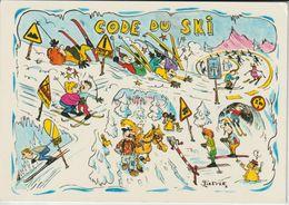 HUMOUR SPORTS CODE DE SKI SIGNE PATRICK - Sports D'hiver