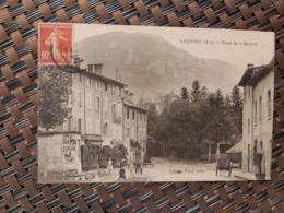 Lagnieu. ( Place De La Bascule) Le 24 06 1910 . France - Otros Municipios