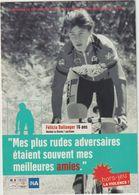 PUBLICITE SPORTS CYCLISME FELICIA BALLANGER VENDEE LA ROCHE - Cyclisme