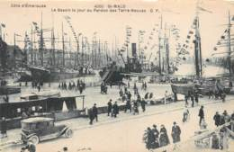 ILLE ET VILAINE  35  SAINT MALO - LE BASSIN LE JOUR DU PARDON DES TERRE NEUVAS - Saint Malo