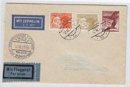 Zeppelin Mit Guter Frankatur +AKs - Storia Postale