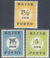 M2858 ✅ Defins Bajar Porto Optd. 1950 Indonesia 3v Set MNH ** 9,5ME - Indonésie