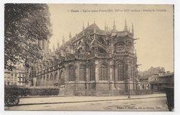 CAEN - N° 7 - EGLISE SAINT PIERRE - DETAIL DE L' ABSIDE - CPA NON VOYAGEE - Caen