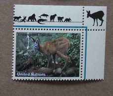 NY04-01 : Nations-Unies (New-York) / Protection De La Nature - Chevrotain Porte-musc (Moschus Spp.) - Unused Stamps