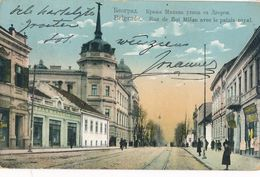CPA -30349-Serbie Belgrade - Rue Du Roi Milan Et Palais Royal-Envoi Gratuit - Serbia