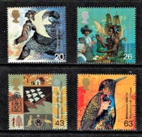 Great Britain 1999 Millennium Series: The Settlers' Tale Set Of 4 MNH - See Notes - Nuovi