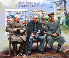 Togo  2020  Yalta Conference  (Winston Churchill,  Roosevelt ; Joseph Stalin)    S202005 - Togo (1960-...)