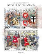 Togo  2020   Battle Of Grunwald  (Teutonic Knight) S202005 - Togo (1960-...)