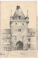 CHEMINS De FER D'Alsace Et De Lorraine - TURCKHEIM - Porte De France - Signé P. Louis - Turckheim