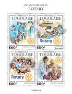 Togo  2020  Rotary  International  S202005 - Togo (1960-...)