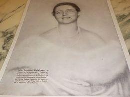 ANCIENNE PUBLICITE SAVON CADUM DE MLLE LUCIENNE DELAHAYE  DU THEATRE L ALHAMBRA  1925 - Perfume & Beauty