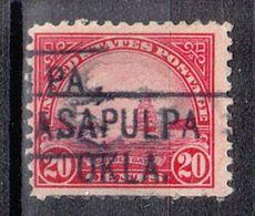 USA Precancel Vorausentwertung Preo, Locals Oklahoma, Salpulpa - United States