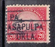 USA Precancel Vorausentwertung Preo, Locals Oklahoma, Salpulpa 567-455 - United States