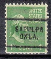 USA Precancel Vorausentwertung Preo, Locals Oklahoma, Salpulpa 703 - United States