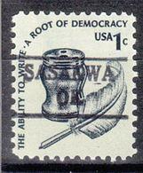 USA Precancel Vorausentwertung Preo, Locals Oklahoma, Sasakwa 882 - United States