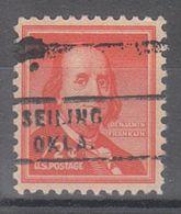 USA Precancel Vorausentwertung Preo, Locals Oklahoma, Seiling 743 - United States