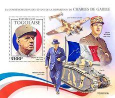 Togo  2020   Charles De Gaulle ;  Winston Churchill  S202005 - Togo (1960-...)