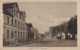 Cpa Allemagne - Langen - Lutherplatz (voir Scan Recto-verso) - Langen