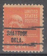USA Precancel Vorausentwertung Preo, Locals Oklahoma, Shattuck 734 - United States