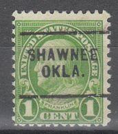 USA Precancel Vorausentwertung Preo, Locals Oklahoma, Shawnee 632-232 - United States