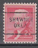 USA Precancel Vorausentwertung Preo, Locals Oklahoma, Shawnee 703 - United States