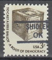 USA Precancel Vorausentwertung Preo, Locals Oklahoma, Shidler 840.5 - United States