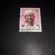 "FO09 REPUBLIC OF SIERRA LEONE 1 C. ""O"" - Sierra Leone (1961-...)"