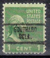 USA Precancel Vorausentwertung Preo, Locals Oklahoma, Southard 734 - United States