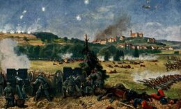 Schlacht Bei Altkirch Im Elsass 19 August 1914.   WWI WWICOLLECTION - War 1914-18