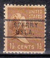 USA Precancel Vorausentwertung Preo, Locals Oklahoma, Sperry 729 - United States