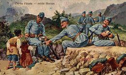 Derbe Fäuste - Milde Herzen.   WWI WWICOLLECTION - Weltkrieg 1914-18