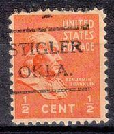 USA Precancel Vorausentwertung Preo, Locals Oklahoma, Stigler 716 - United States