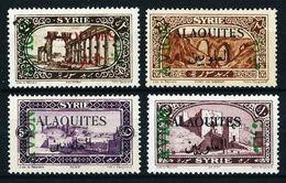 Alaouites (Francés) Nº A-5/8 Nuevo*/(*) - Neufs