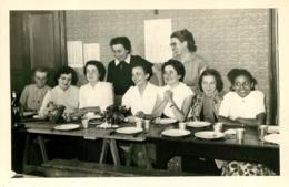 SONGIEU AIN COLONIE FRANC JOIE 1954 PHOTO ORIGINALE 17 X 11.50 CM AVEC LISTE DES PERSONNES - Places