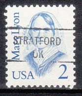USA Precancel Vorausentwertung Preo, Locals Oklahoma, Stratford 841 - United States