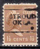 USA Precancel Vorausentwertung Preo, Locals Oklahoma, Stroud 701 - United States