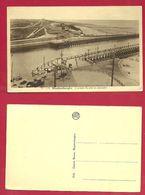 Blankenberge L' Entrée Du Port Et Estacades - Blankenberge