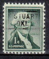USA Precancel Vorausentwertung Preo, Locals Oklahoma, Stuart 729 - United States
