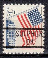 USA Precancel Vorausentwertung Preo, Locals Oklahoma, Sulphur 839 - United States