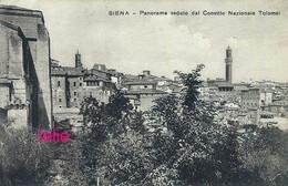 Photo : Siena : Panorama Venduto Dal Convitto Nazionale Tolomei, Photo Of Old Postcard, 2 Scans - Places