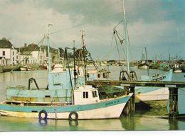 Le Croisic Belle Vue Du Port Chalutiers Bateaux De Pêche - Le Croisic