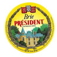 ETIQUETTE De FROMAGE..BRIE PRESIDENT..BESNIER - Cheese