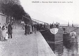 ORLEANS                              Nouveau Canal Lateral De La Loire                     Le Port - Orleans